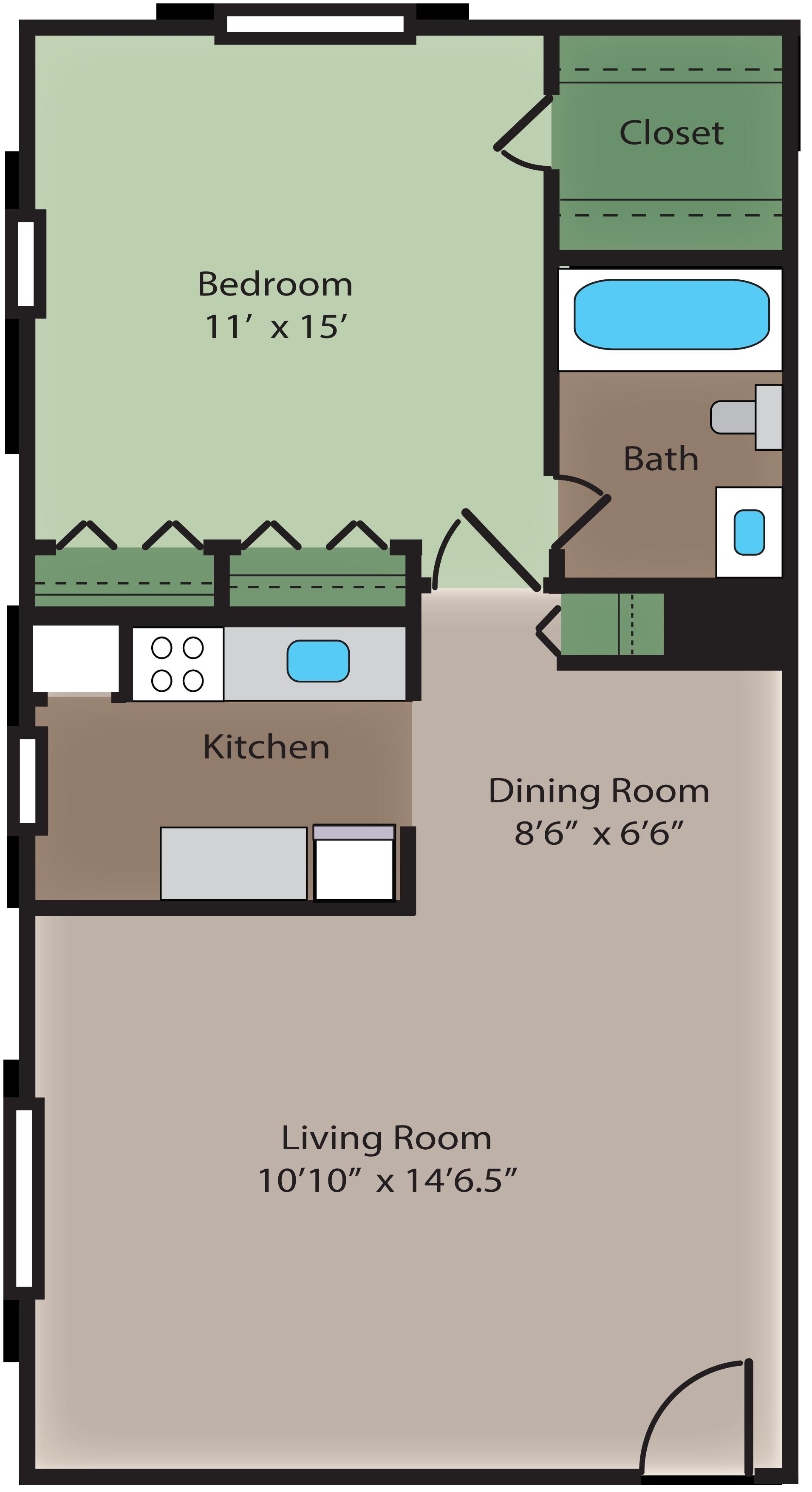 ridgewood club apartments, 4594 wicklow place, virginia beach, va