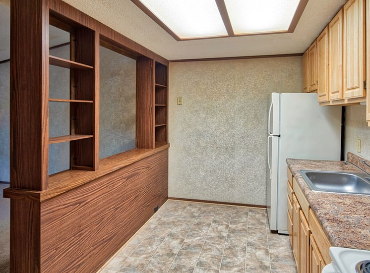 Sea Pines Affordable Apartments Kitchen