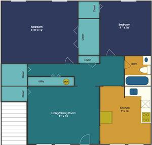 Stonegate Apartments for rent in Williamsburg VA