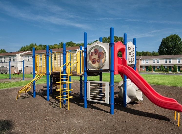 Playground at affordable apartments in Richmond VA
