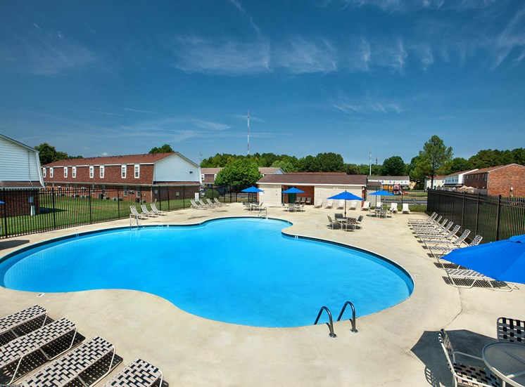 Pool at Apartments for rent on GRTC bus line in Richmond VA