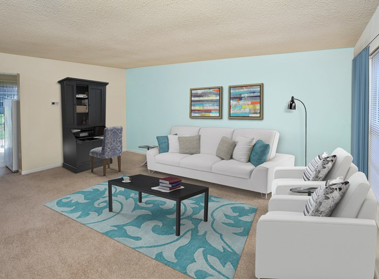 Woodbriar Apartments Living Room
