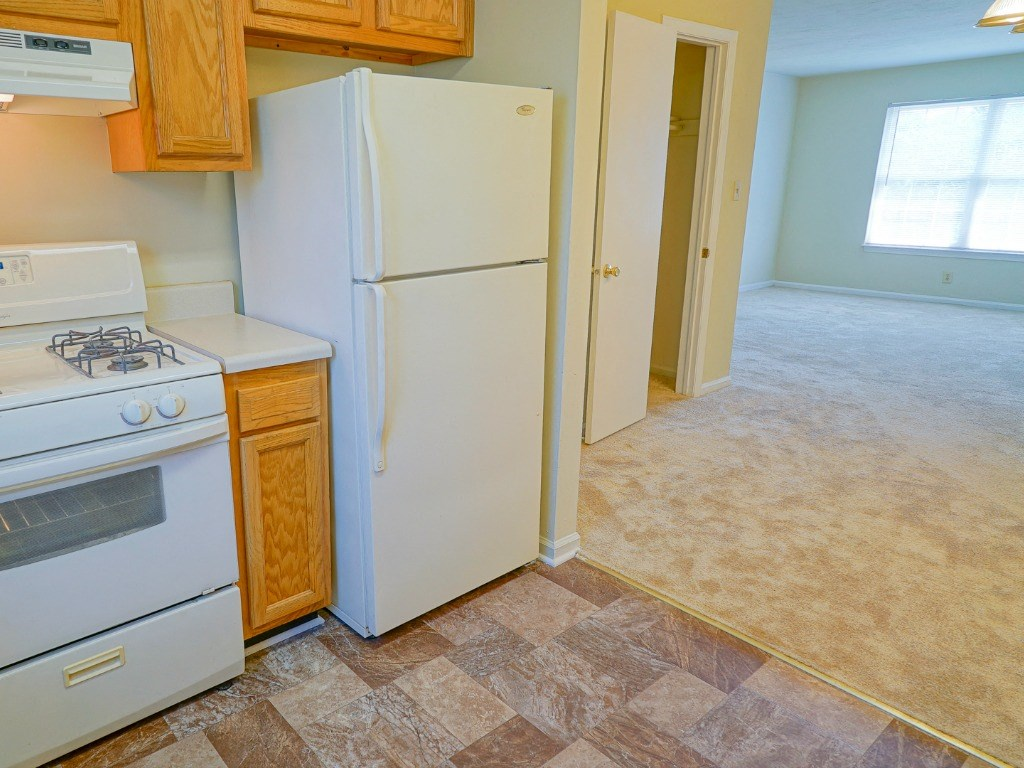 Kitchen at Apartments in Poquoson VA