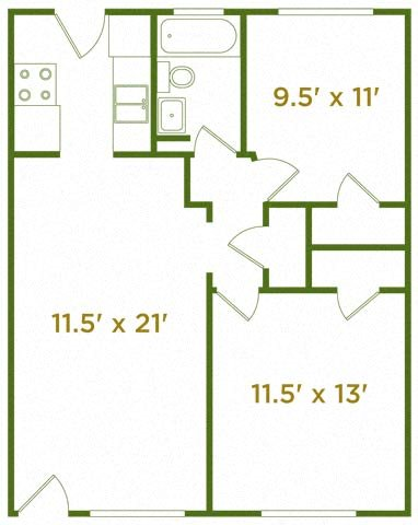 The Ridgecliff Floor Plan 5