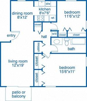 Two Bedroom II
