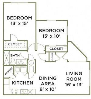 Two Bedroom Phase II