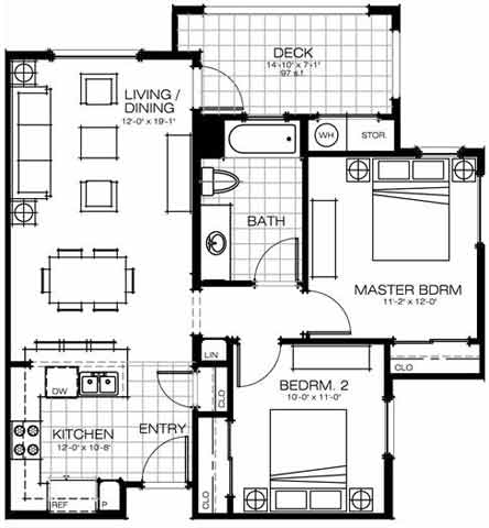 Wheelchair Accessible Bathroom Floor Plans handicap accessible floor plan 2 bedroom bath with ~ home plan and