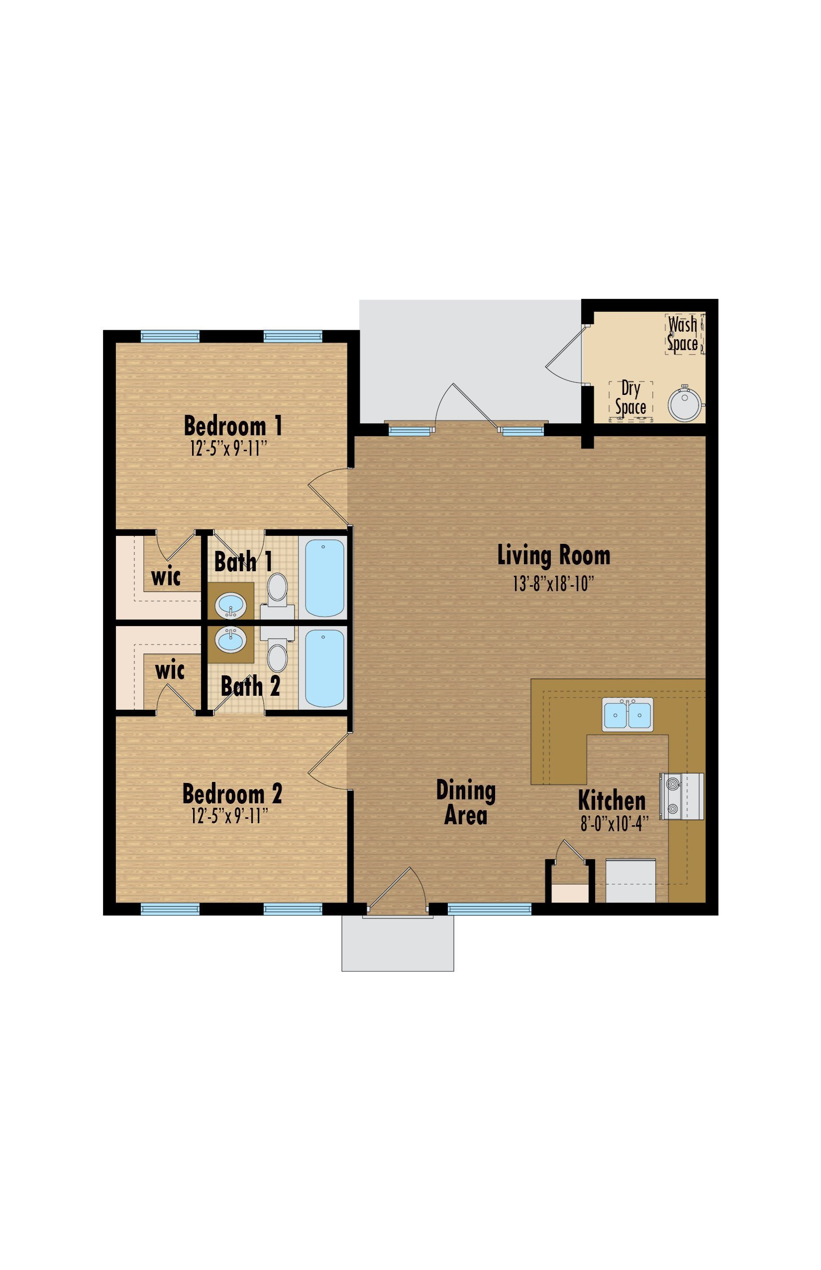 Wisteria Floor Plan 6
