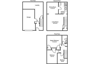 Whitehall Place Apartments, 1553 Parkline Drive, Pittsburgh, PA ...