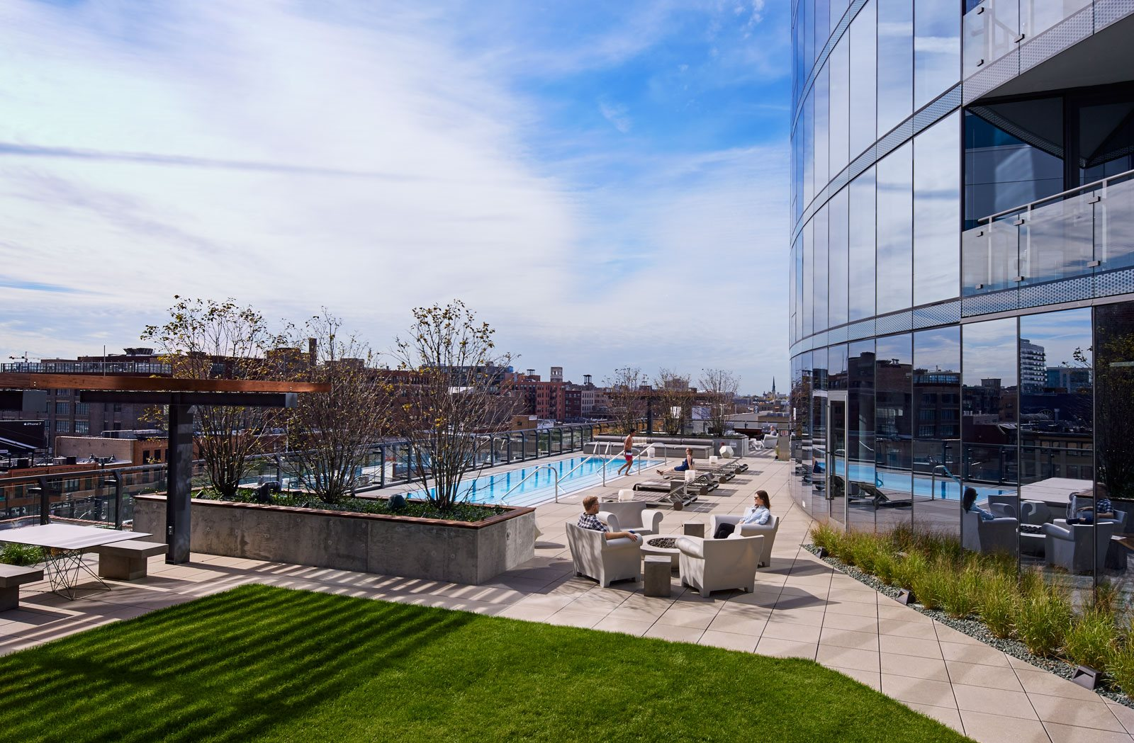 luxury apartments for rent in west loop il the parker