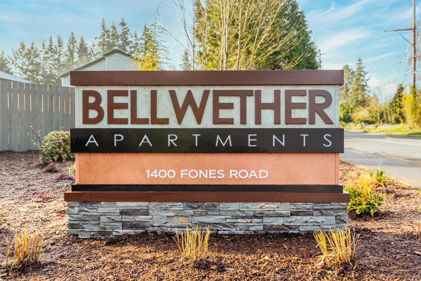 Bellwether Monument Sign