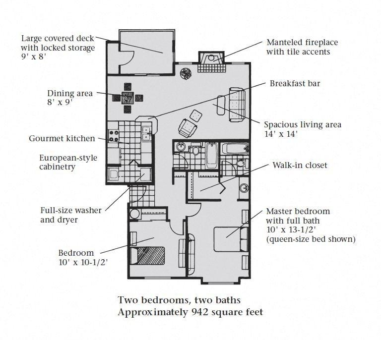 2B 2B Floor Plan 4
