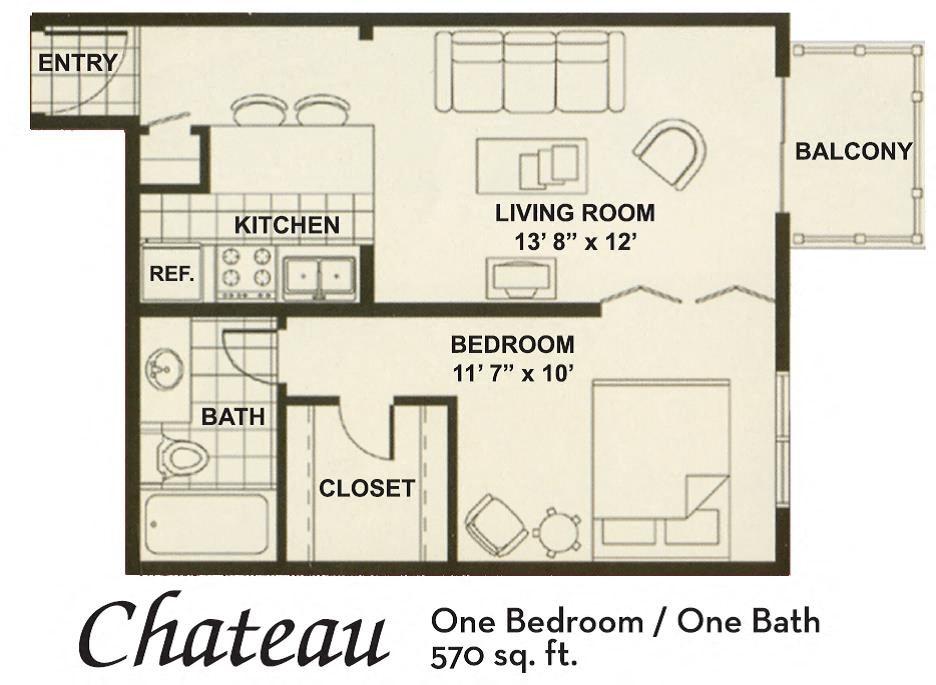 sm 1x1 Floor Plan 2