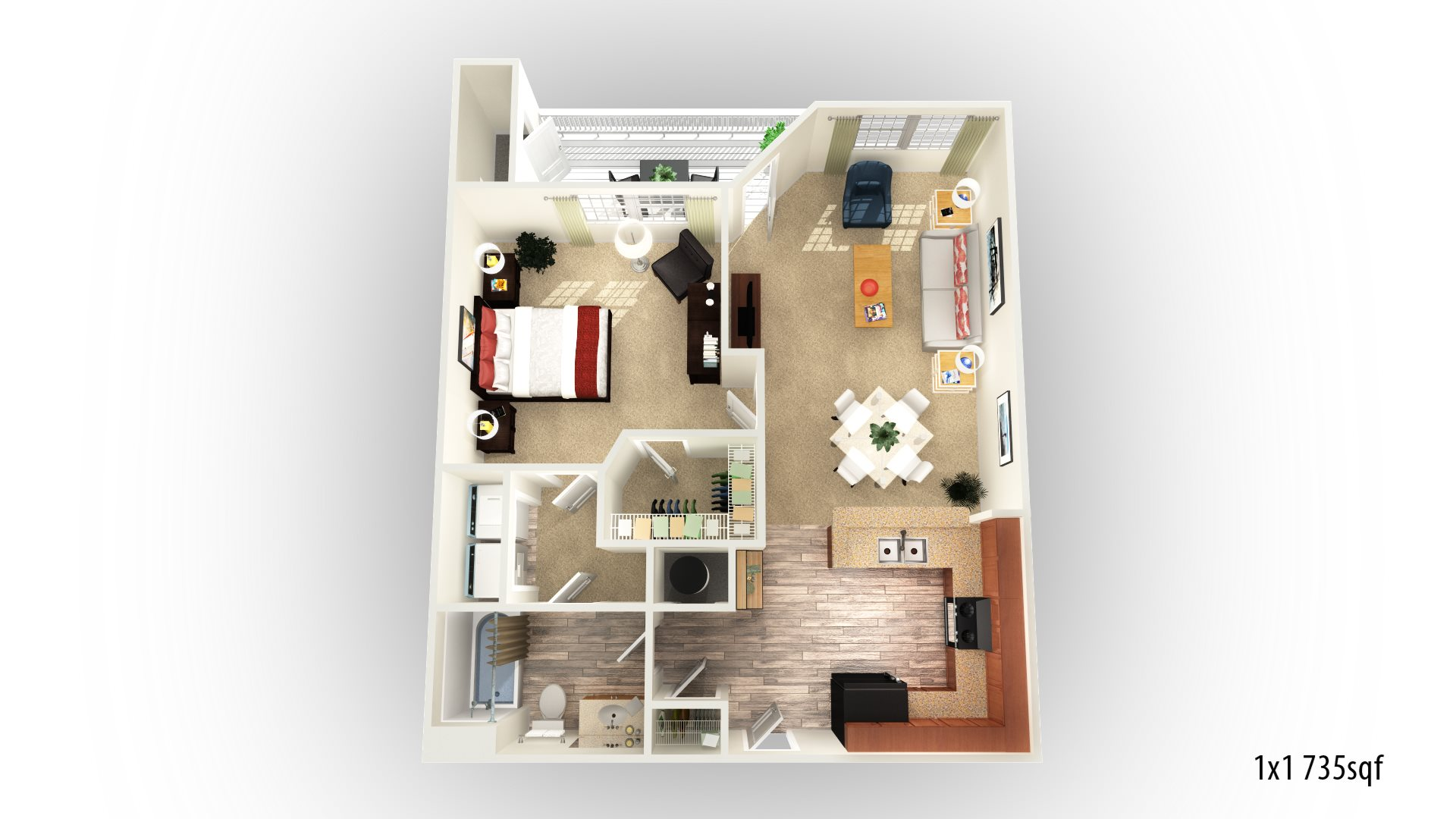 The Avalon Floor Plan 1
