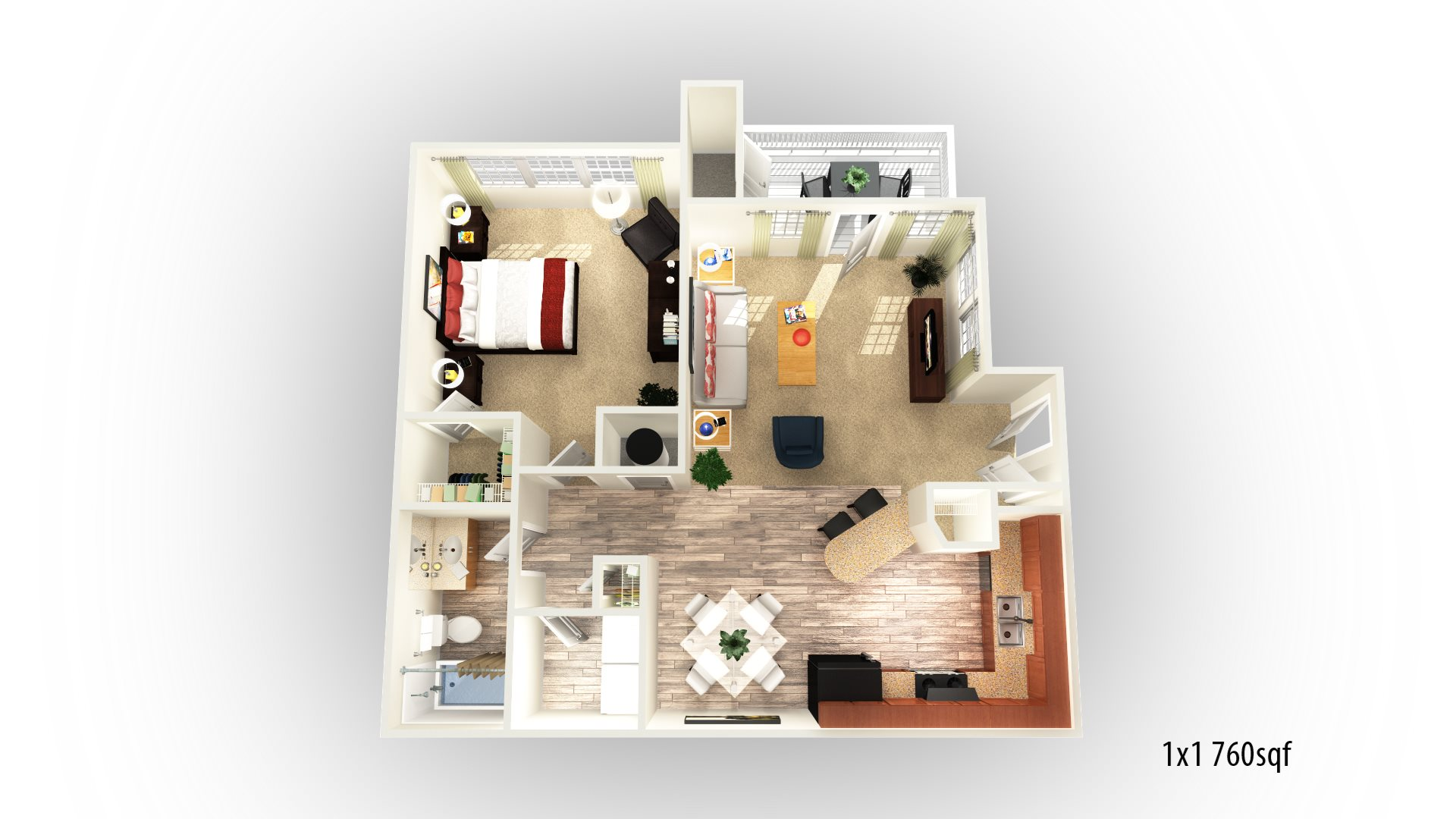 Chapel Hill Floor Plan 2