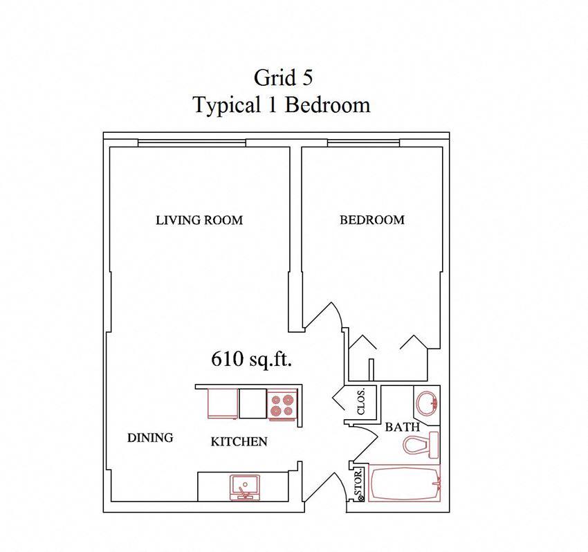 Grid 5 1 Bedroom