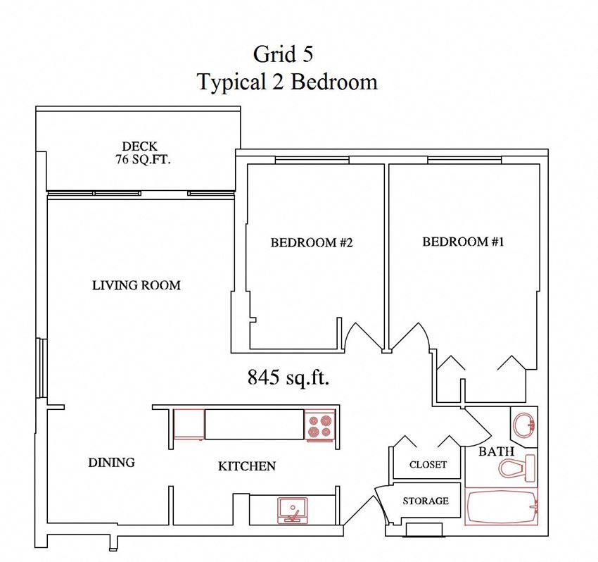 Grid 5 2 Bedroom