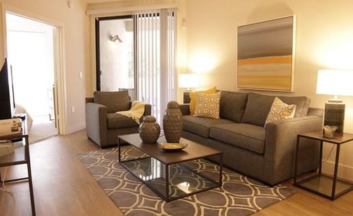Las Aguas Apartments Living Room