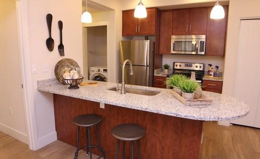 Las Aguas Apartments Kitchen