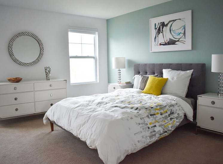 Spacious Bedroom, Highland Village Townhomes in North Hills, Pittsburgh, PA 15229