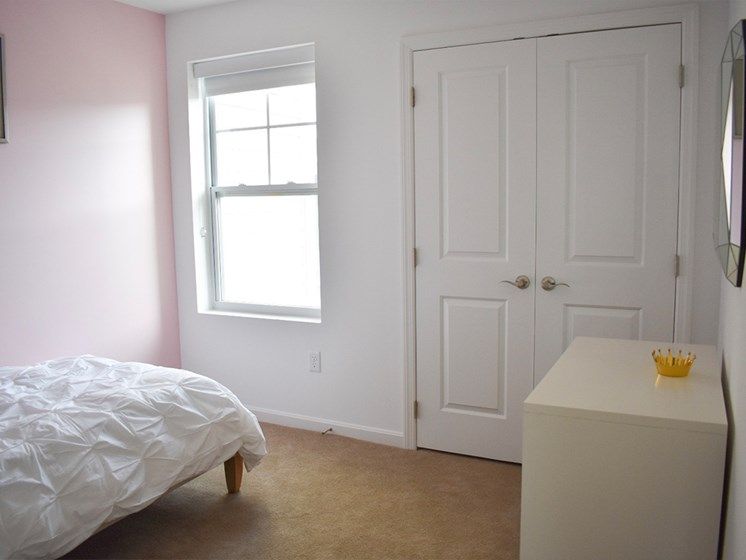 Bedroom, Highland Village Townhomes in North Hills, Pittsburgh, PA 15229