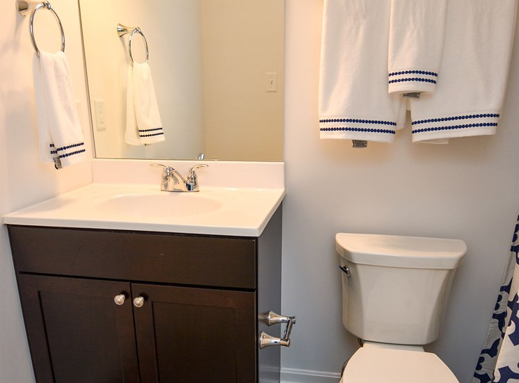 Bathroom, Highland Village newly constructed Townhomes in Ross Township, Pittsburgh, PA