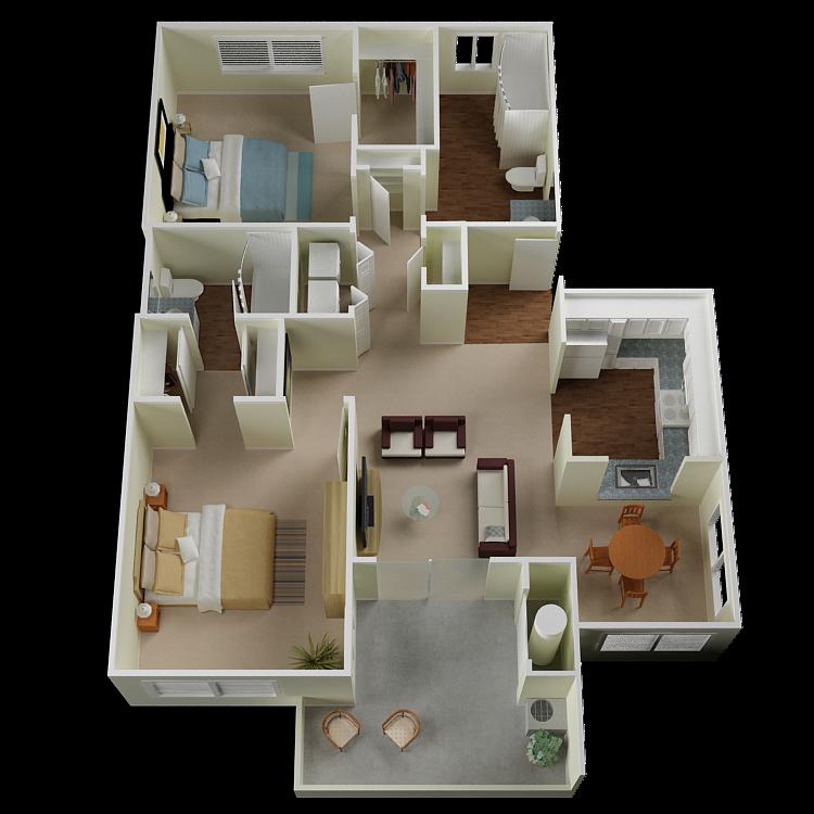 Incline Floor Plan 3