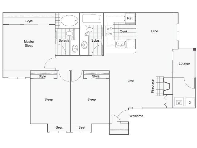 Seahorse Floor Plan 3
