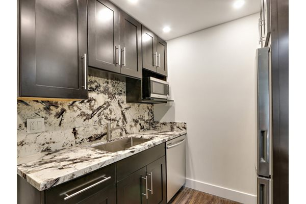 Granite Counter Tops at Woodcliff Apartments, LA, CA, 90034