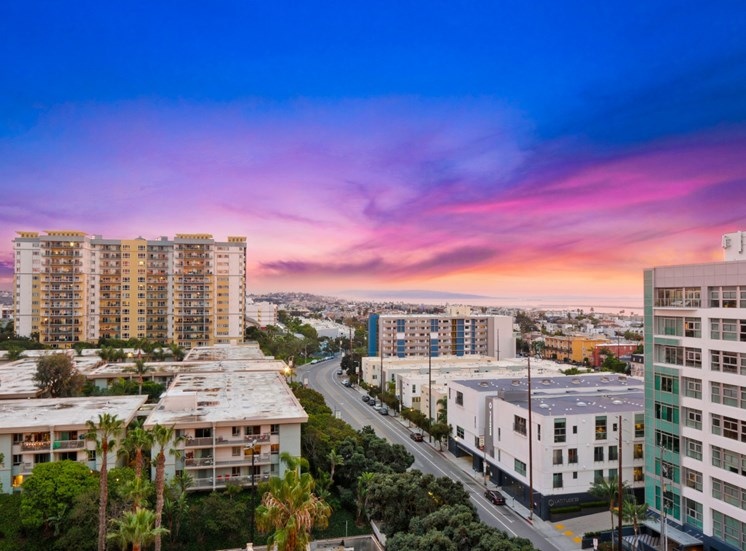 Skyline View at Marina Tower Marina Del Rey Apartment for Rent