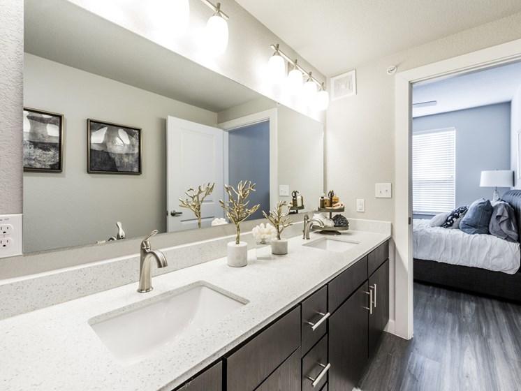 model bathroom north austin apartments