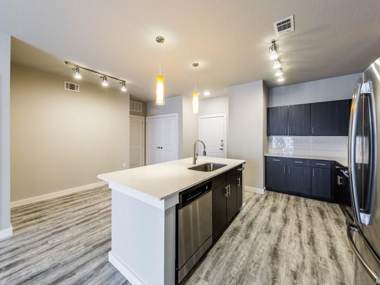 model kitchen north austin apartments