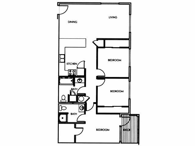 3 Bedroom Floor Plan D Floor Plan 4