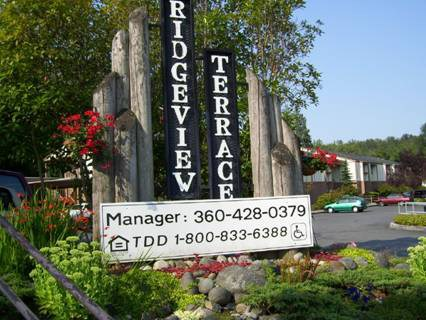 Ridgeview Terrace Sign