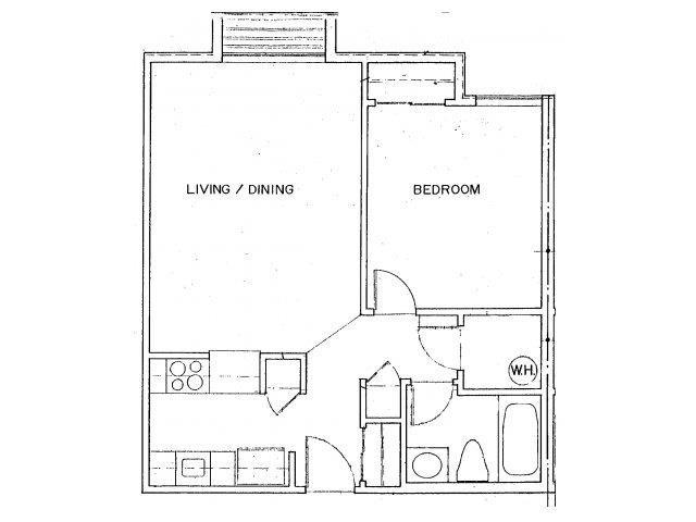 ADA Accessible Floor Plan 2