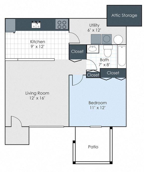 The Hampton Floor Plan 1