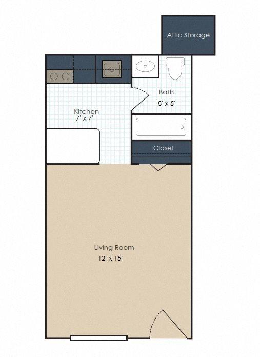 The Bristol Floor Plan 1