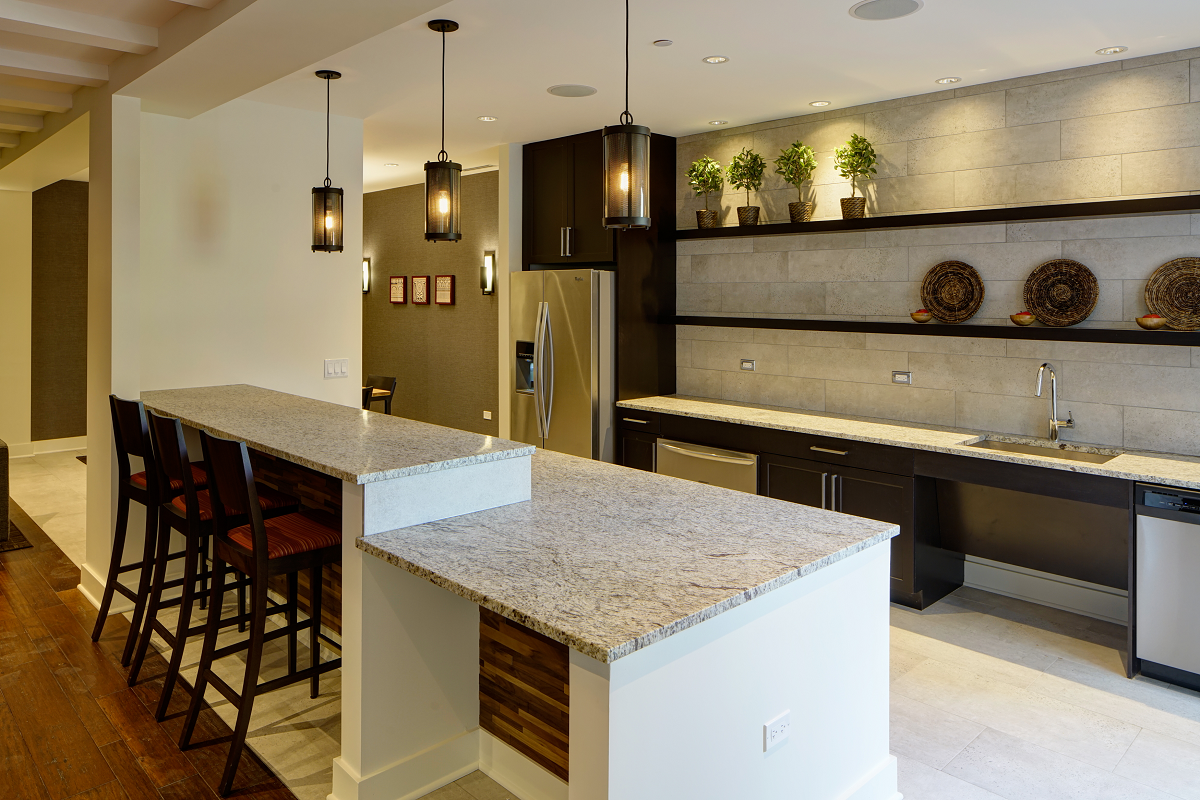 Demonstration Kitchen courthouse square apartments, 250 s naperville rd, wheaton, il