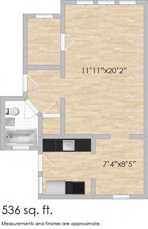 132-140 N. Humphrey Studio