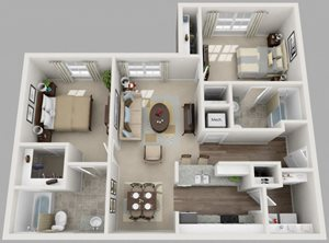 Residences at Jefferson Crossing 2 Bedroom
