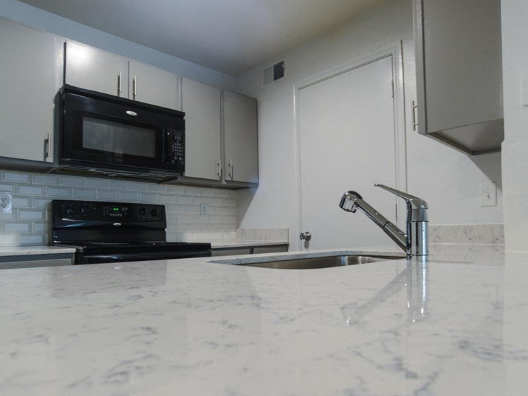 updated countertops in north austin tx apartments