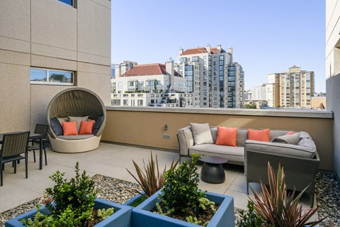 San Francisco Apartments for Rent - Etta Outdoor Terrace