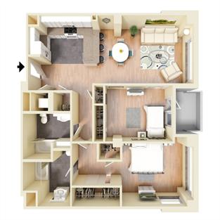 N Floor Plan 15