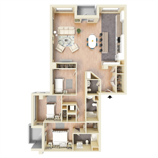 PH1 Floor Plan 19