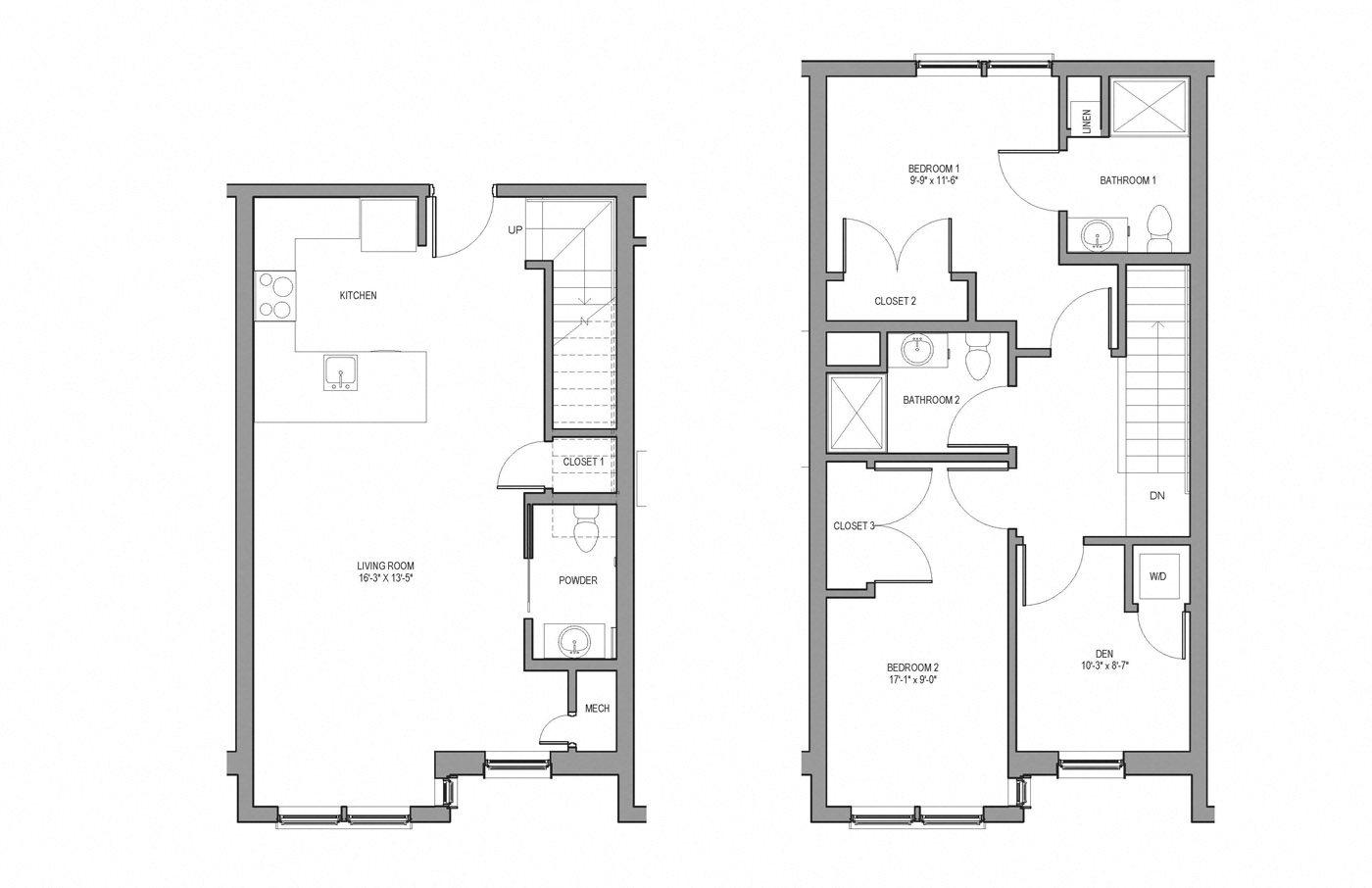 floor plans of metromark in boston ma
