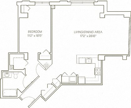 Downtown Crossing Floor Plan 2