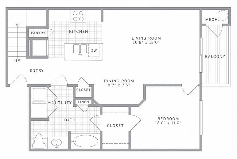 A1 Loft Floor Plan 2