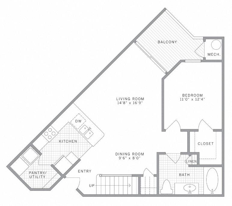 A3 Loft Floor Plan 6
