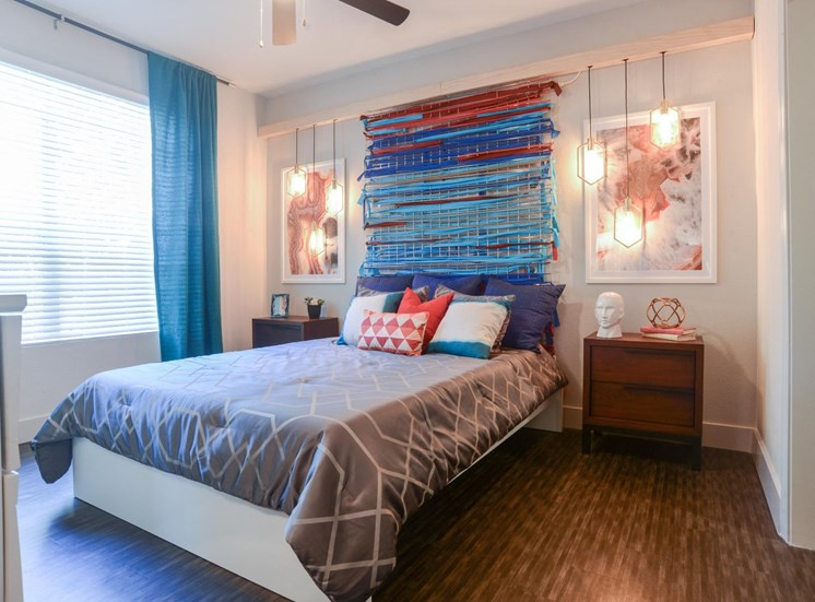 King-Sized Bedrooms at Ellie Apartments, Texas