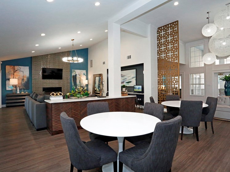 Contemporary Kitchen Finishes at Ellie Apartments, Austin, TX
